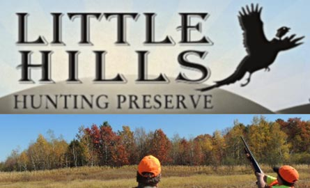 father-son-shooting-flying-pheasant-at-little-hills-hunting-preserve